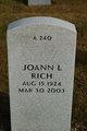 Profile photo:  Joann L Rich