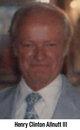Profile photo:  Henry Clinton Allnutt, III