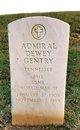 Profile photo:  Admiral Dewey Gentry