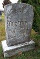 Mary Matilda <I>McDonald</I> MacDonald