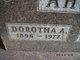 Dorotha A Ahern