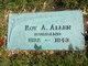 Pvt Roy A. Allen