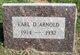 Earl D Arnold
