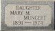 Mary M. Muncert