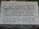 Lillie L <I>Snyder</I> Adeler
