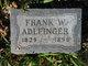 """Frank W """"Franz"""" Adlfinger"""