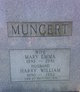 Mary Emma <I>Hartley</I> Muncert