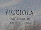 "Profile photo:  Antonio ""Tony"" Picciola, Jr"