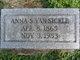 Profile photo:  Anna S <I>Breckbill</I> Van Sickle