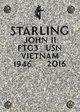 Profile photo:  John Starling, II