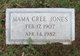 "Profile photo:  Edith Cree ""Mama Cree"" <I>Blankenship</I> Jones"