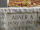 Profile photo:  Abner A Aldrich
