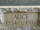 Profile photo:  Alice May <I>Crooker</I> Aldrich
