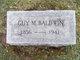 Guy Maxwell Baldwin