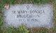 Profile photo: Sr Mary Donata Broughton