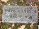 """Willis Albert """"Will"""" Estrich"""