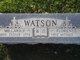 Florence <I>Edwards</I> Watson