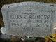 Ellen Kay <I>White</I> Simmons