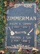 """Ralph V. """"Zimmy"""" Zimmerman"""