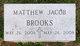 Profile photo:  Matthew Jacob Brooks