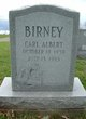 Profile photo:  Carl Albert Birney