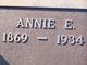 Profile photo:  Annie Evagreen <I>Andrews</I> Headrick
