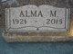 Profile photo:  Alma M. Caldwell