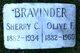 Profile photo:  Olive <I>Fleenor</I> Bravinder