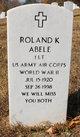 Roland K. Abele