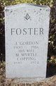 M. Myrtle <I>Copping</I> Foster