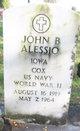 Profile photo:  John Baptist Alessio