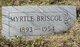 Profile photo:  Myrtle Geneva <I>Adams</I> Briscoe