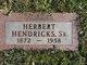 Profile photo:  Herbert Hendricks, Sr
