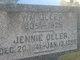 Jennie <I>Hampson</I> Oller