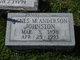 Profile photo:  Agnes M. <I>Anderson</I> Johnston