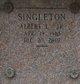 "Profile photo:  Albert L. ""Bert"" Singleton, Jr"