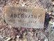 Profile photo:  Infant Abernathy