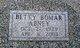 Betty Irene <I>Hyatt</I> Abney