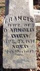 Francis <I>Pefley</I> Arnold