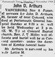 Profile photo:  John D Arthur