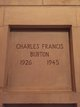 PFC Charles Francis Burton