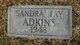 Sandra Fay Adkins