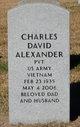 Profile photo:  Charles David Alexander