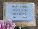 Mary Ethel Pendleton