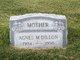 Profile photo:  Agnes M. Dillon