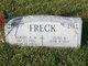 Profile photo:  Albert A. Freck, Jr