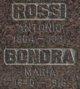 Angela Maria <I>Rossi</I> Bonora