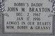 Profile photo:  John M. Braxton