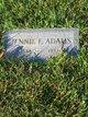 Profile photo:  Jennie Elizabeth Adams