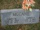 Profile photo:  Carrie McCane